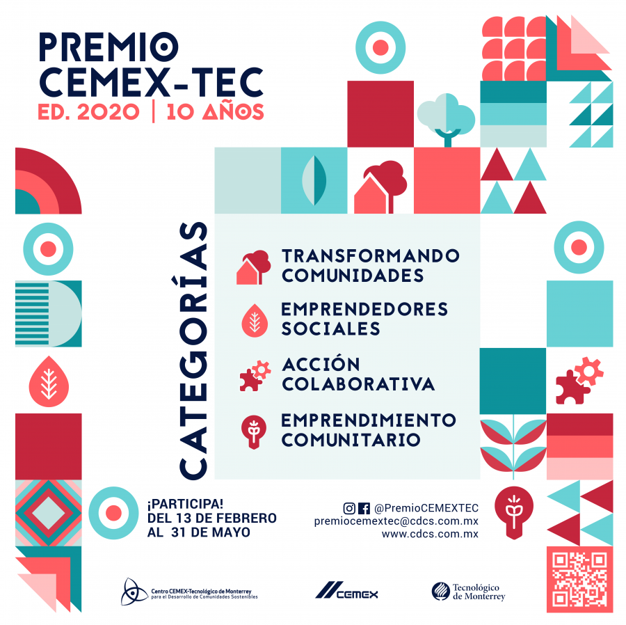 Convocatoria Global del Premio CEMEX-Tec 2020